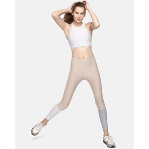 Outdoor Voices Colorblock Dipped Fitted Legging Sm
